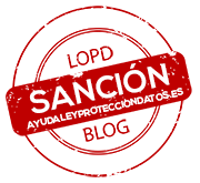sancion proteccion de datos